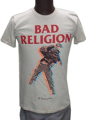 【BAD RELIGION】DISSENT OF MAN Mサイズ オフィシャルバンドTシャツ