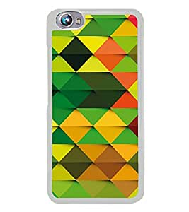 Colourful Pattern 2D Hard Polycarbonate Designer Back Case Cover for Micromax Canvas Fire 4 A107