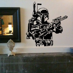 Best Cheap Boba Fett Star Wars Large Vinyl Wall Decal Sticker For