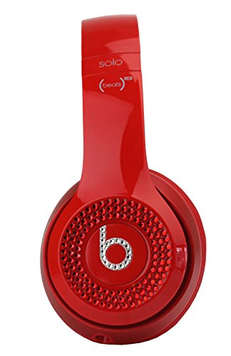 Beats 415425 Solo 2 - Auriculares wireless, color Rojo, 21 x 14.8 x 21 cm