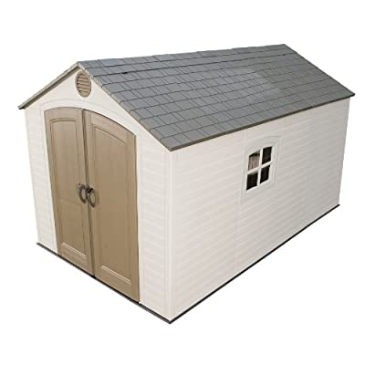 Lifetime 8ft x 12ft x 8ft Resin Storage Shed 60035
