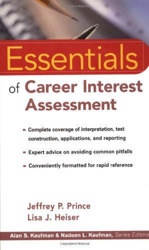 Essentials of Career Interest Assessment (Essentials of...