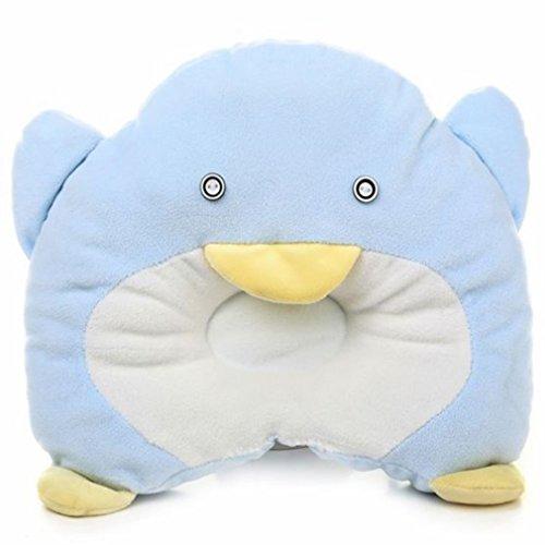 Melife® Newborn Baby Boy Girl Anti-Roll Pillow Flat Head Sleeping Positioner (I)
