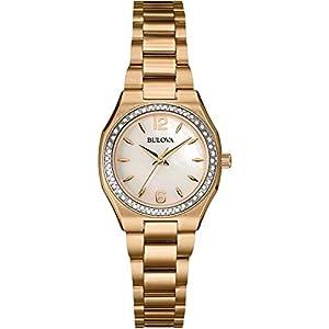 Bulova 98R205 Ladies Diamond Gallery Watch