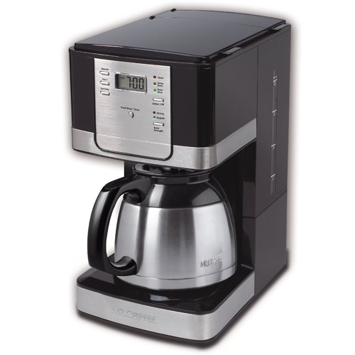 Coffee Maker Cleaning Mr Coffee : Mr. Coffee JWTX95 8-Cup Thermal Coffeemaker, Black cheap Coffee Maker on sale
