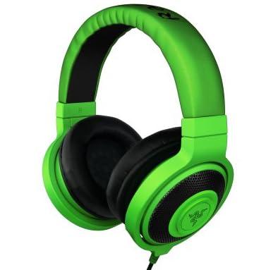 Razer kraken - Greenアナログ接続 ステレオ ゲーミング&ミュージック ヘッドフォン 【正規保証品】 RZ12-00870100-R3M1