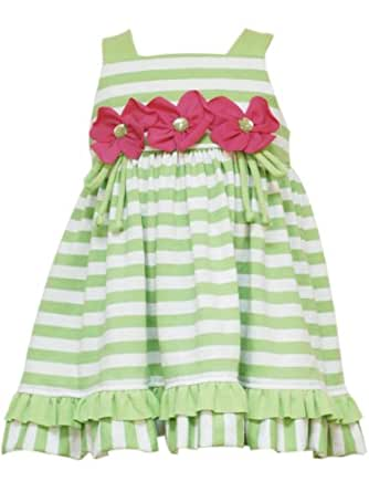 Amazon Rare Editions Baby Girls Striped Knit Dress