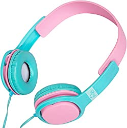 Sibyl Stereo Headphone with Mic Blue/Light Pink