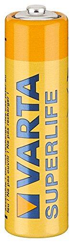 Lot de piles alcalines mignon aA varta (2006)