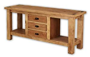 Sierra Rustic Lodge Console Table Sofa Tables