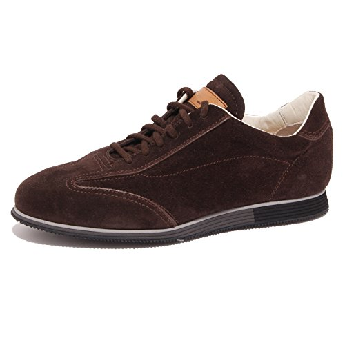 1103Q sneaker uomo SANTONI scarpa marrone shoe men [8]