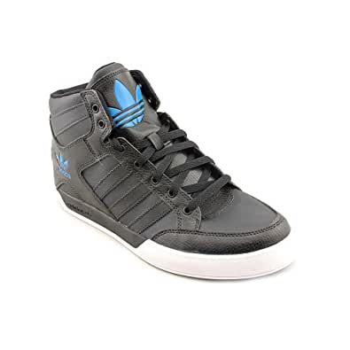 Adidas Hard Court Hi Mens Size 10.5 Black Sneakers Shoes