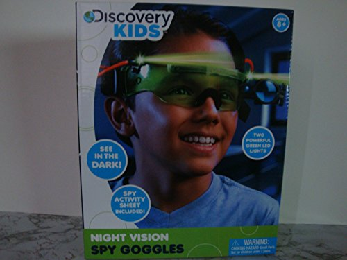 Discovery Kids Night Vision Spy Goggles - 1