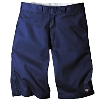 """Dickies WR640 13"""" Relaxed Fit Multi-Use Pocket Short-Navy-30"""