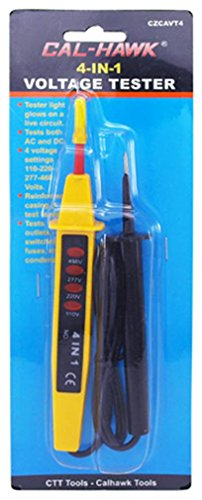 Voltage Current Tester 4 In 1 Handy Electrical Tool Portable Ac Dc Electrician