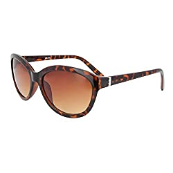 VAMA Wayfarer Sunglasses (BROWN) (LADSUNBRDA)