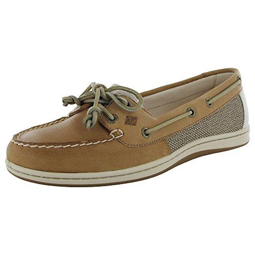 Sperry Top-Sider Women's Firefish Core Linen/Oat Boat Shoe 8.5 M (B)