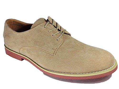 Mens-Suede-Dress-Buck-Oxfords-Lace-Up-Shoes-dak01