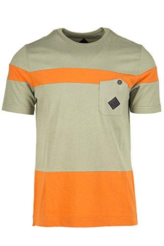 Moncler W t-shirt maglia maniche corte girocollo uomo verde EU S (UK 36) 41 09H 8005100