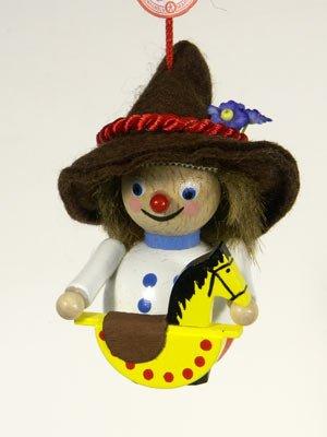 Steinbach Toymaker Wooden Ornament
