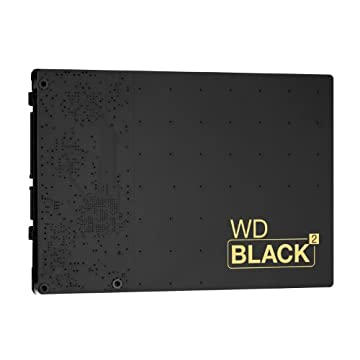 WD Black2 2.5inch 120GB SSD+1.0TB HDD 9.5mm Dual Drive リテールパッケージ