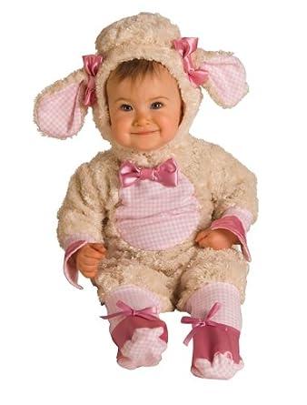 Pink Lamb Infant Costume