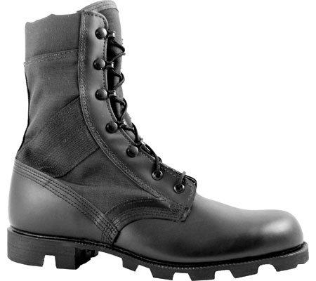 Mcrae 9189 Men'S Hot Weather All Black Jungle Boot W/Panama Outsole 8.5 W Us