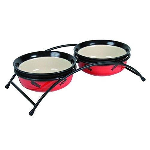 Mangiare in piedi in ceramica Bowl Set Piccolo - 2 × 0,25 L / o 12,5 cm