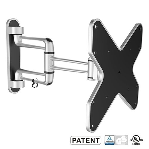 Mount-It! Full Motion Flat Panel Monitor/LCD TV Wall Mount with Dual Articulating Arm for flat screen TV's and Monitors (23 inch – 42 inch)