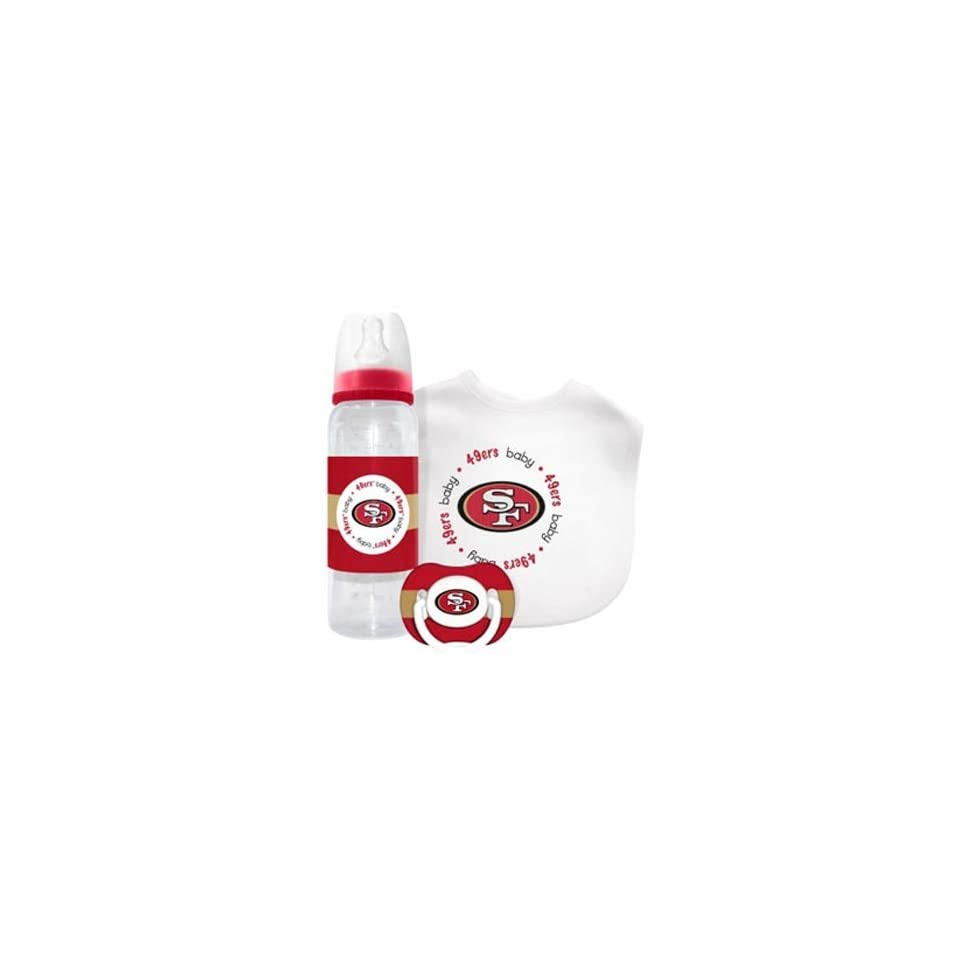 San Francisco 49ers Baby Gift Set Clothing