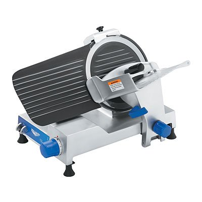 Vollrath 40804 Space Saver Medium Duty Belt Driven Electric Food Slicer, 12-Inch