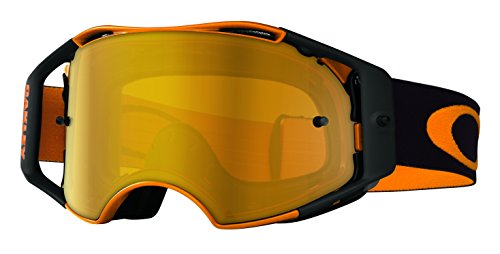 Oakley Airbrake MX Herlings Signature Series Goggles (Orange Frame/Fire Iridium Lens) маска для сноуборда oakley splice simon dumont signature black red