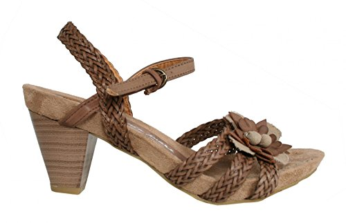 Sandali per Donna MARIA MARE 65157 BRUSIN CHOCOLATE size-map 41