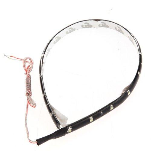 BuyinCoins Bande lumineuse flexible waterproof 15 LED 30 cm 12 V