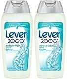 Lever 2000 Original Body Wash-Perfectly Fresh 18 oz (2 Pack)