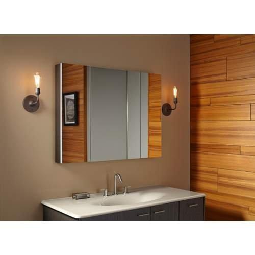 Kohler k 99010 na verdera medicine cabinet 40 inch x 30 for 40 inch kitchen cabinets
