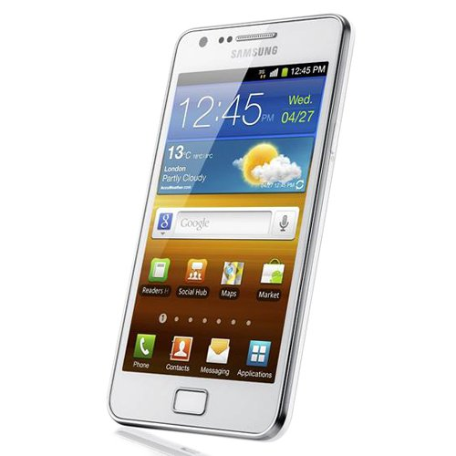 414cFqB8HtL. SL500  Samsung Galaxy S II SA I9100 Unlocked Phone with 8 MP Camera and GPS support   International Version   Ceramic White