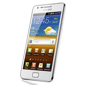 Samsung Galaxy S II Sa-i9100 Unlocked Phone With 8 Mp Camera And Gps Support International Version Ceramic White