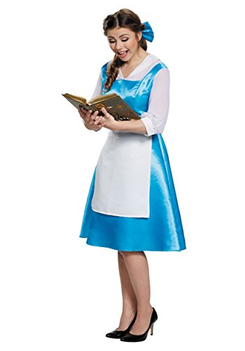 Halloween 2017 Disney Costumes Plus Size & Standard Women's Costume Characters - Women's Costume CharactersBelle Blue Village Dress Adult Costume