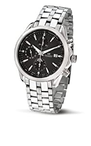 Philip Watch Blaze Automatic with Black Dial and Stainless Steel Strap