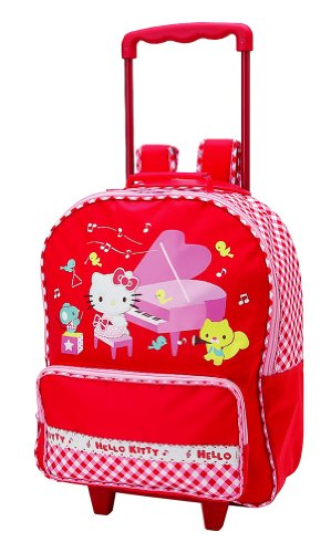 Hello Kitty Rolling Backpack : Piano