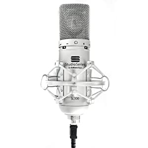 SL300 Studio USB Microphone + Shock Mount, Case and Cable