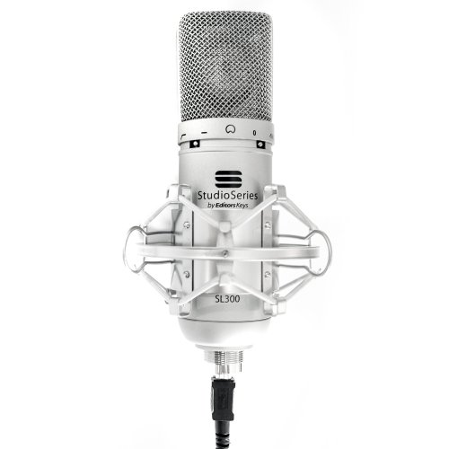 SL300 Studio USB Microphone + Shock Mount Black Friday & Cyber Monday 2014