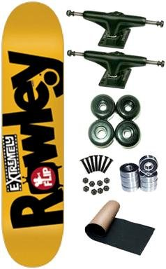 Flip Rowley Extremely Sorry Complete Skateboard Deck New On Sale
