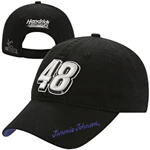 Chase Authentics Jimmie Johnson 2013 Ladies Big Number Adjustable Hat - Black by Chase Authentics
