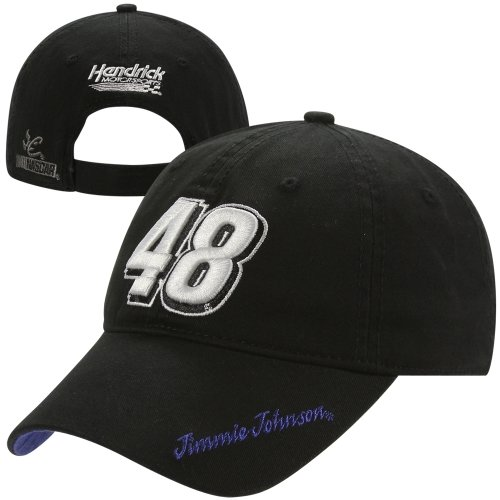 Chase Authentics Jimmie Johnson 2013 Ladies Big Number Adjustable Hat - Black