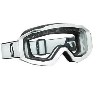 Scott Hustle MX Enduro Goggle MX Cross/MTB Brille weiss/klar by Scott