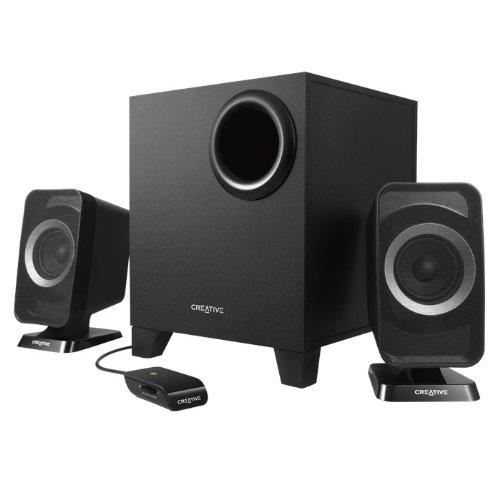 Creative T3150 Bluetooth Wireless 2.1 Speaker (Black) Refurbished