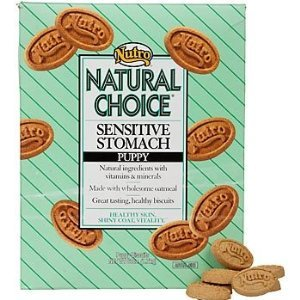 Nutro Natural Choice Sensitive Stomach Puppy Treats Biscuits 23 Oz
