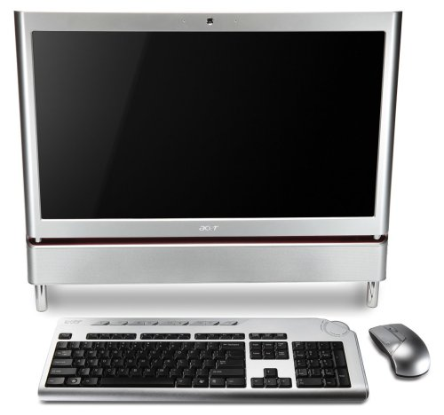 Acer Aspire Z5610 Desktop-PC (Intel Core 2 Quad Q8200 2.3GHz, 4GB RAM, 1000GB HDD, ATI HD4570, DVD, Win 7 HP)